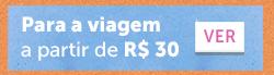 Acessórios de viagem a partir de R$ 30